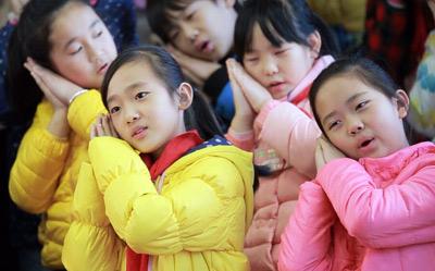 2015年中小学艺术节排练拍摄花絮