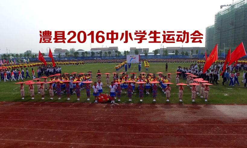 澧县2016年中小学生运动会开幕式
