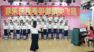 澧县二中建制班合唱